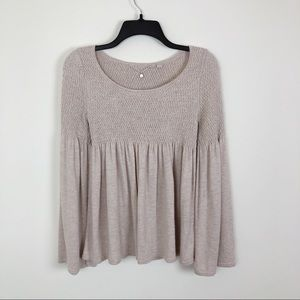 Anthropologie | Knitted & Knotted Top